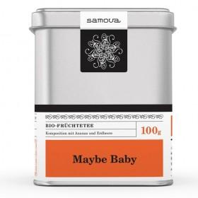 Samova Tee - MAYBE BABY - Bio Früchtetee - Komposition mit Hibiskus, Ananas, Hagebutte, Erdbeere...
