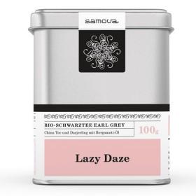 Samova Tee - LAZY DAZE - Bio Schwarztee Earl Grey - China Tee und Darjeeling mit Bergamotte Öl