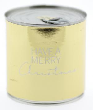 Wondercandle - Cancake - Kuchen in der Dose - Christmas - Golden Time BROWNIE