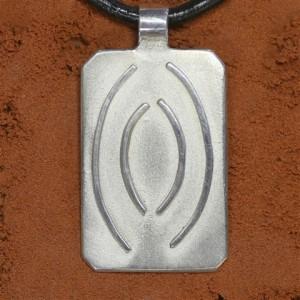 Heilschmuck - Ingmar - Aldebaran - Handarbeit aus Tirol - 925 Silber - Symbol EMU - Innerer Frieden