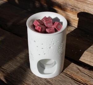 Duftlampe - Keramik - Stars