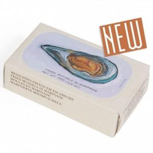 Jose Gourmet - Fischkonserven - NEU - Gebratene, marinierte Miesmuscheln