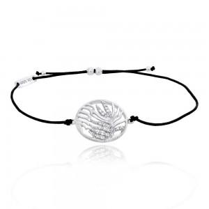 Julie Julsen - Armband - Palmenblatt Silber