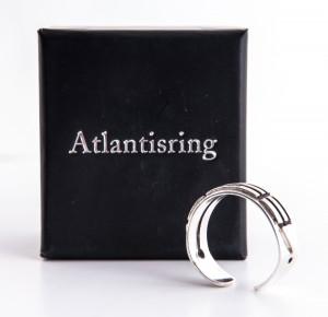 Schmuck - ATLANTISRING - offen - Silber