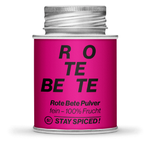 Stay Spiced - 100% Frucht - ROTE BEETE PULVER