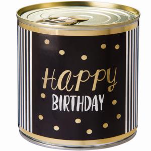 Cancake - Wondercandle - Kuchen in der Dose - BROWNIE - Happy Birthday