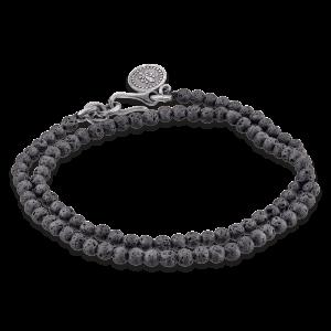 Gervida - Herrenschmuck - Armband - Lavastein