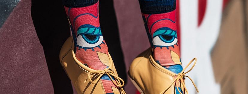 Wiggle Steps Socken