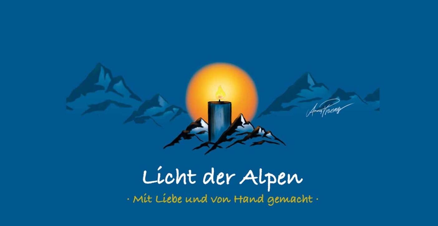 Licht der Alpen - Naturduftkerzen
