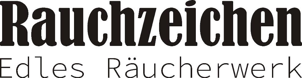 Rauchzeichen - Edles Räucherwerk - Logo