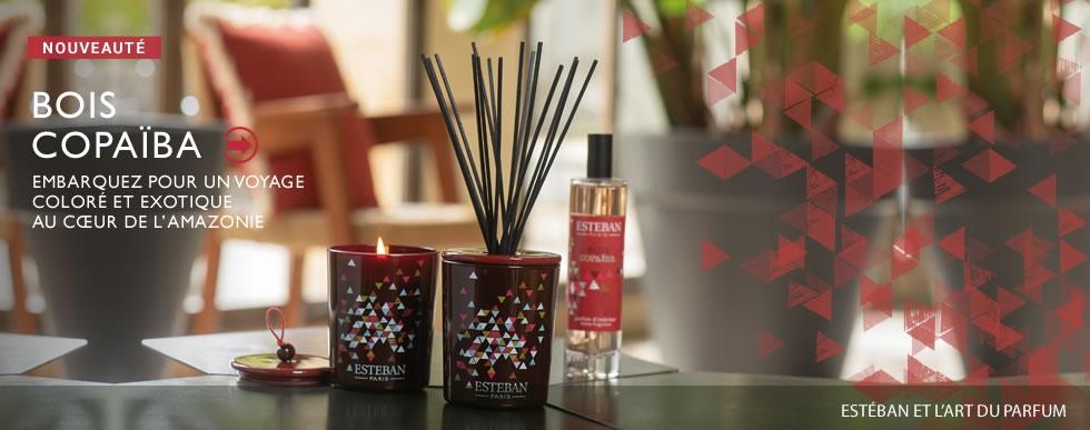 Esteban Paris Parfums - Raumduftkollektion - Bois Copaiba